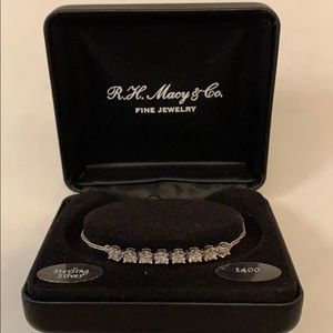 RH Macy's Diamond & Sterling Silver Bracelet